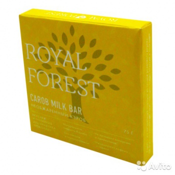 Шоколад из кэроба Необжареный Royal Forest